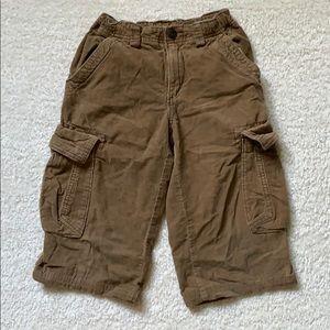 Used corduroy shorts for boys-size 7